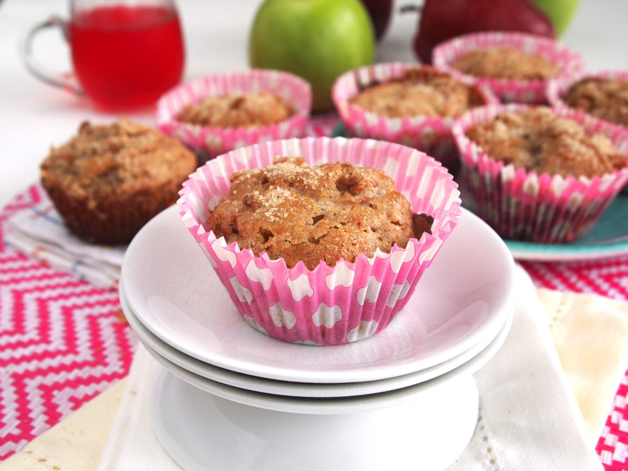 Gluten-Free Apple and Cheerios™ Banana Muffins
