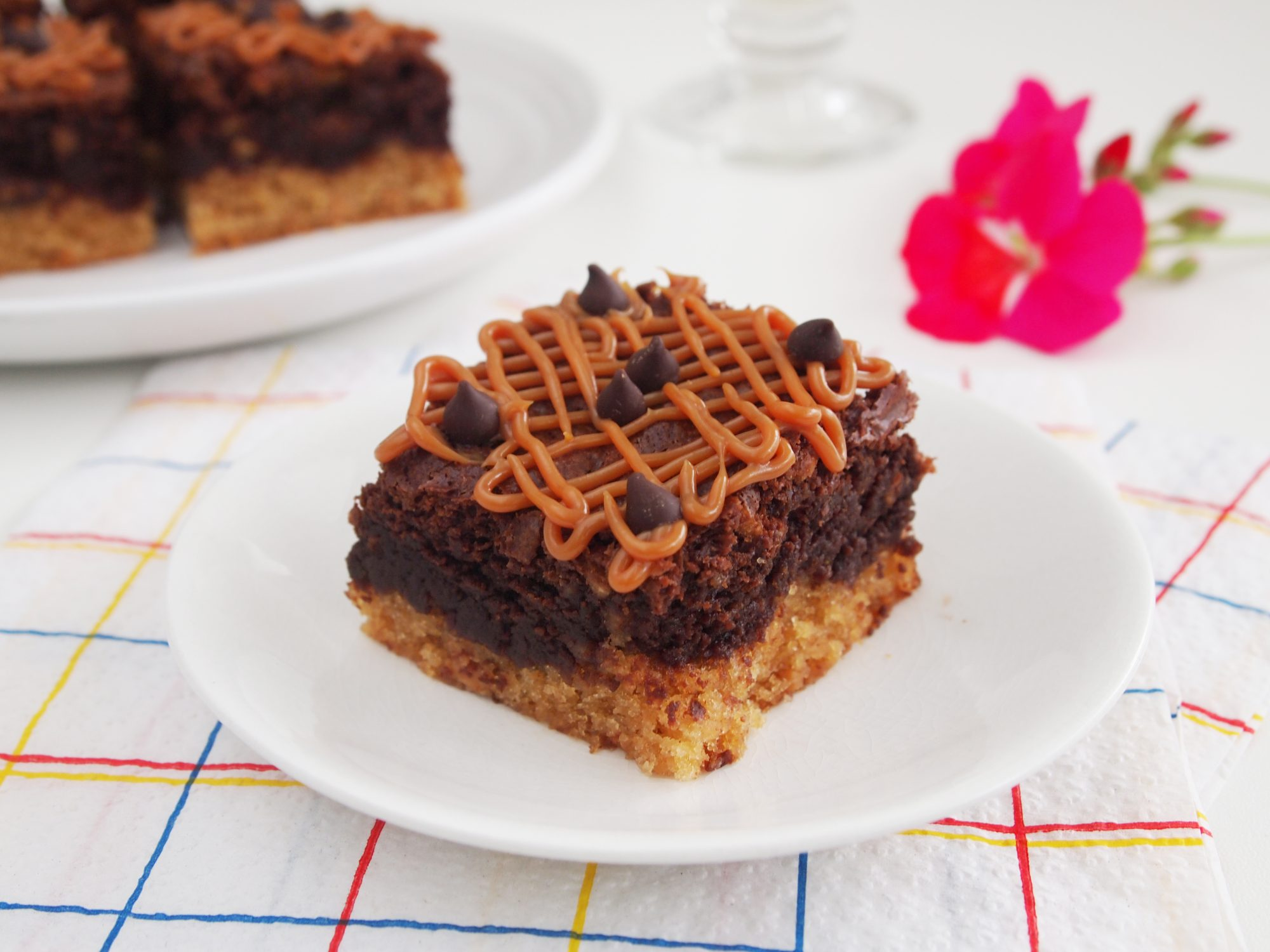 Gluten-Free Cheerios™ and Peanut Butter Brownies