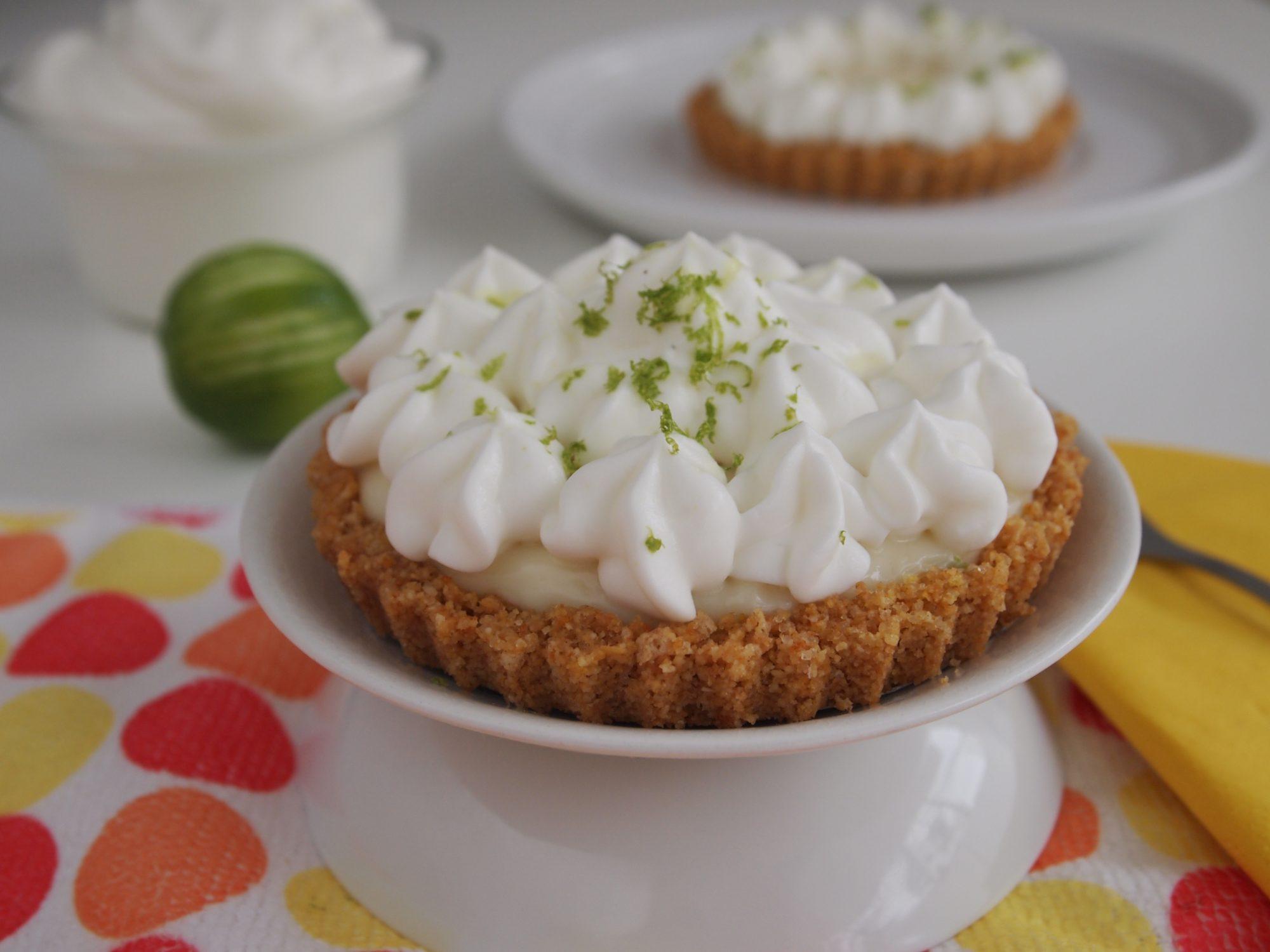 Gluten-Free Lime Juice Tartlets