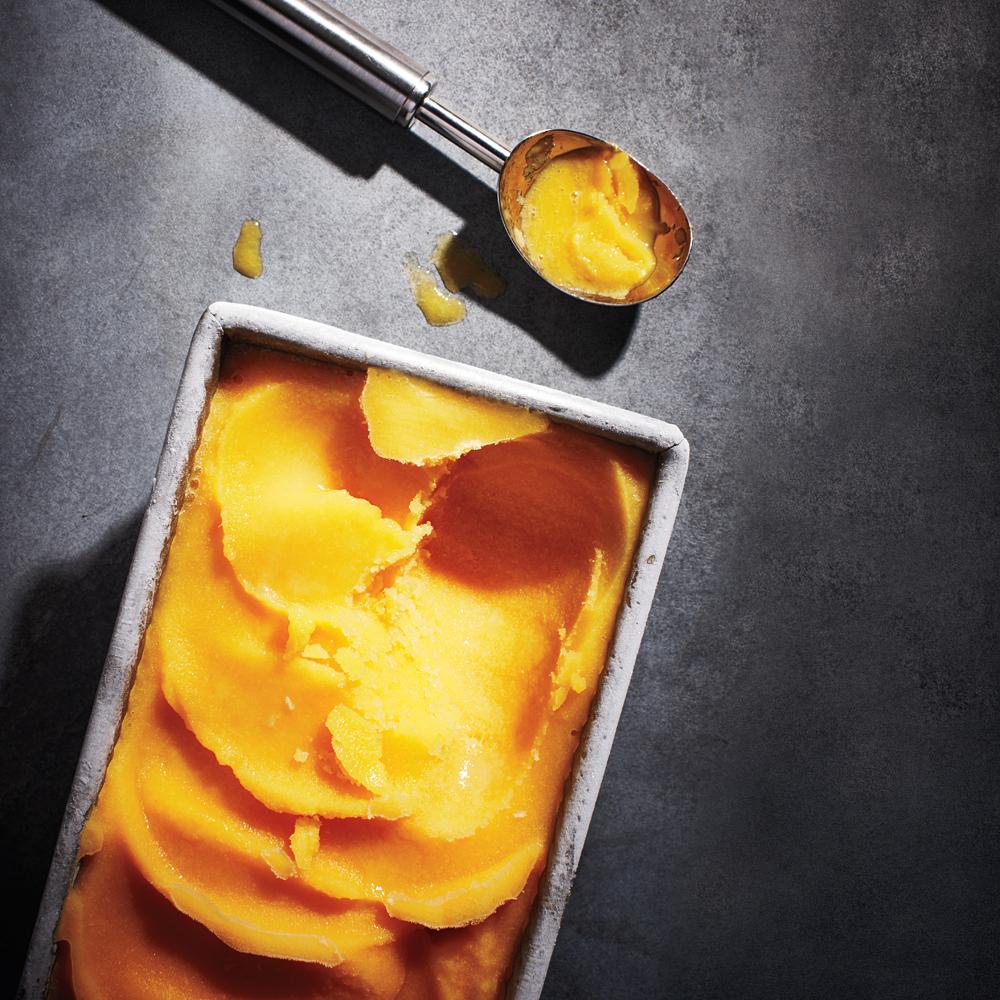 Caliente Mango Sorbet