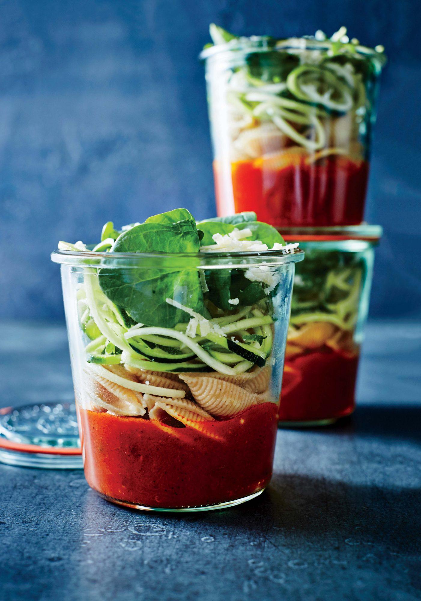 Tomato-Seashell Soup