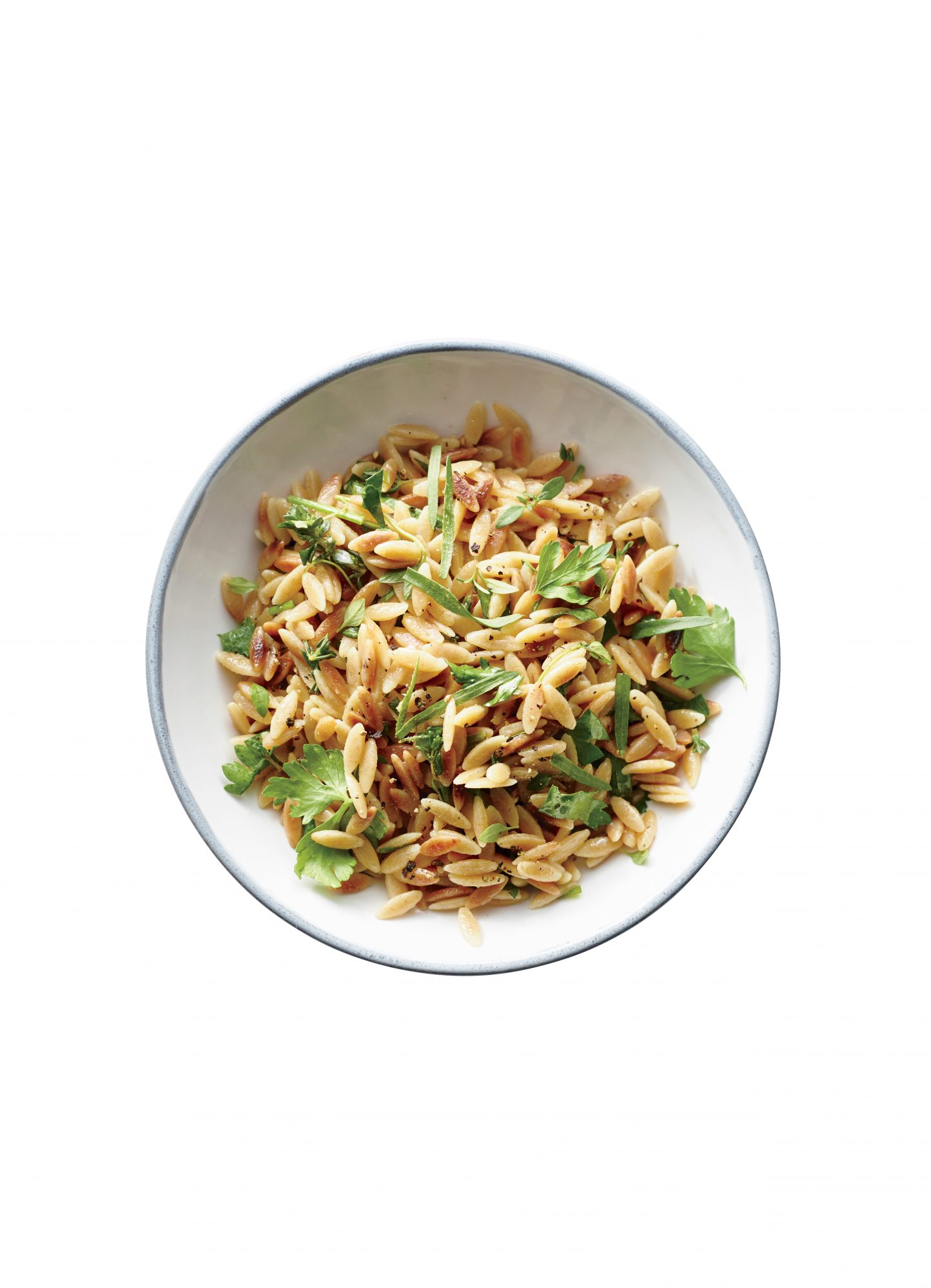 Orzo with Fresh Herb Vinaigrette