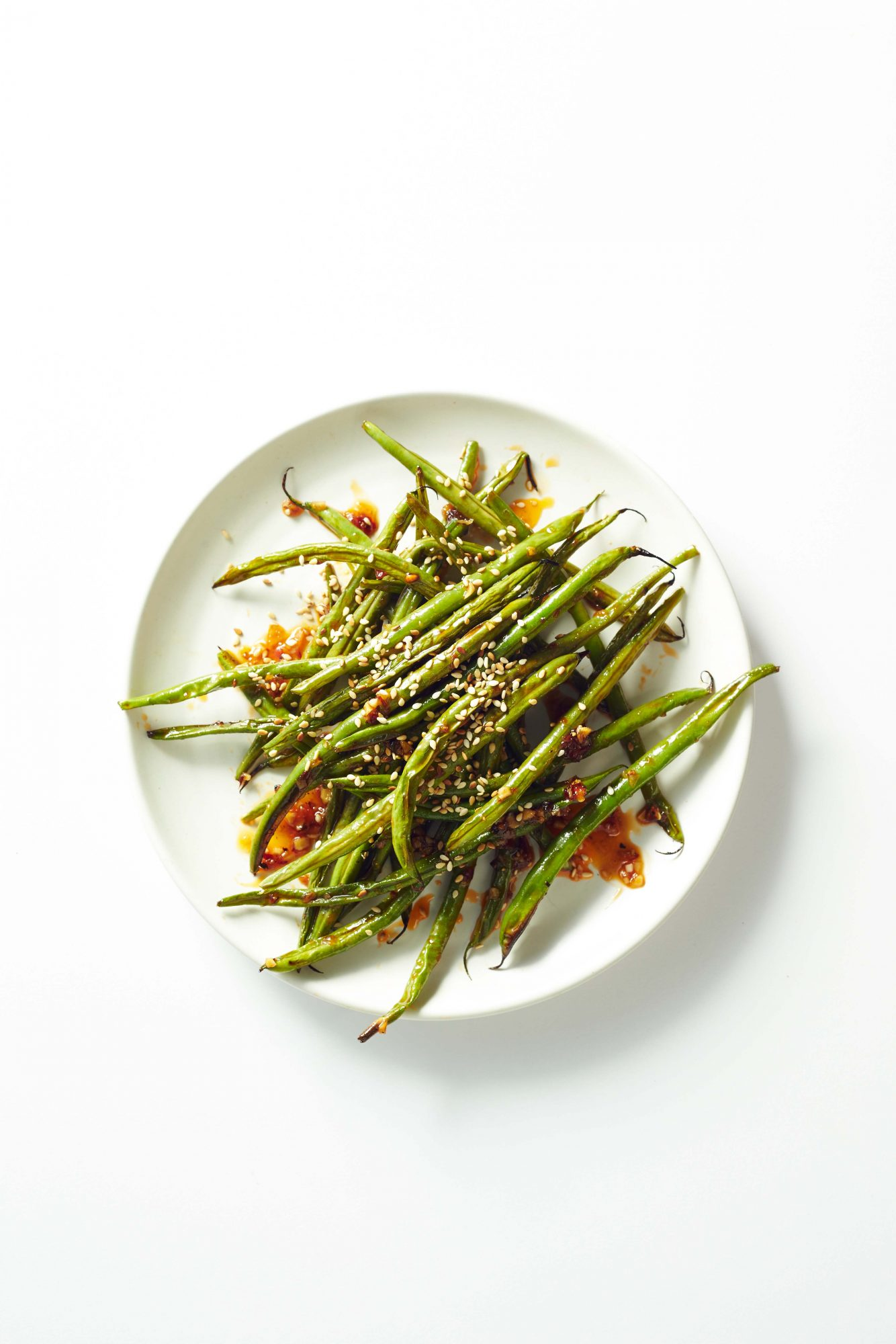 Sweet Heat Green Beans Image