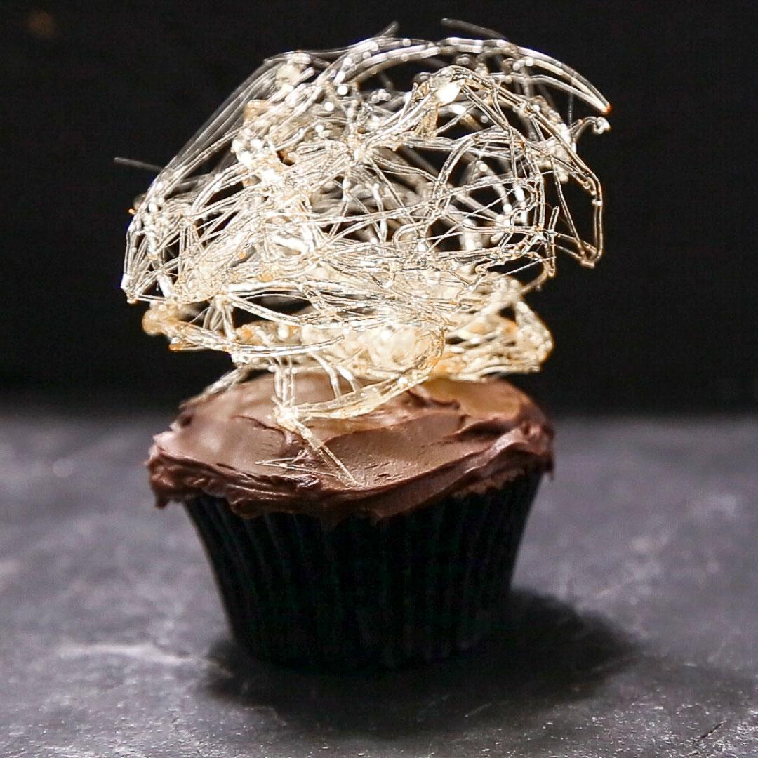 Spun-Sugar Cobwebs