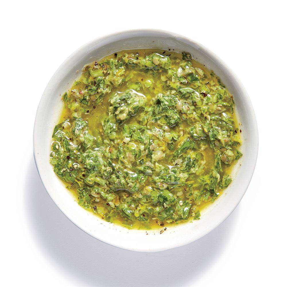 Herb-and-Scallion Salsa Verde