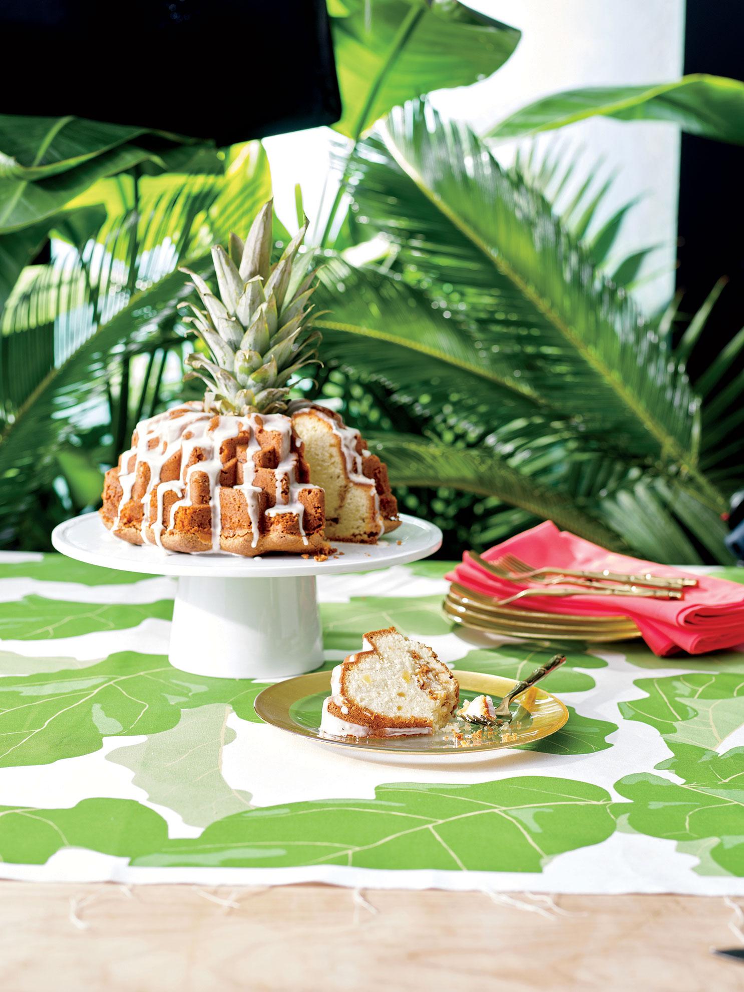 Mrs. Lilien's Luau Cake