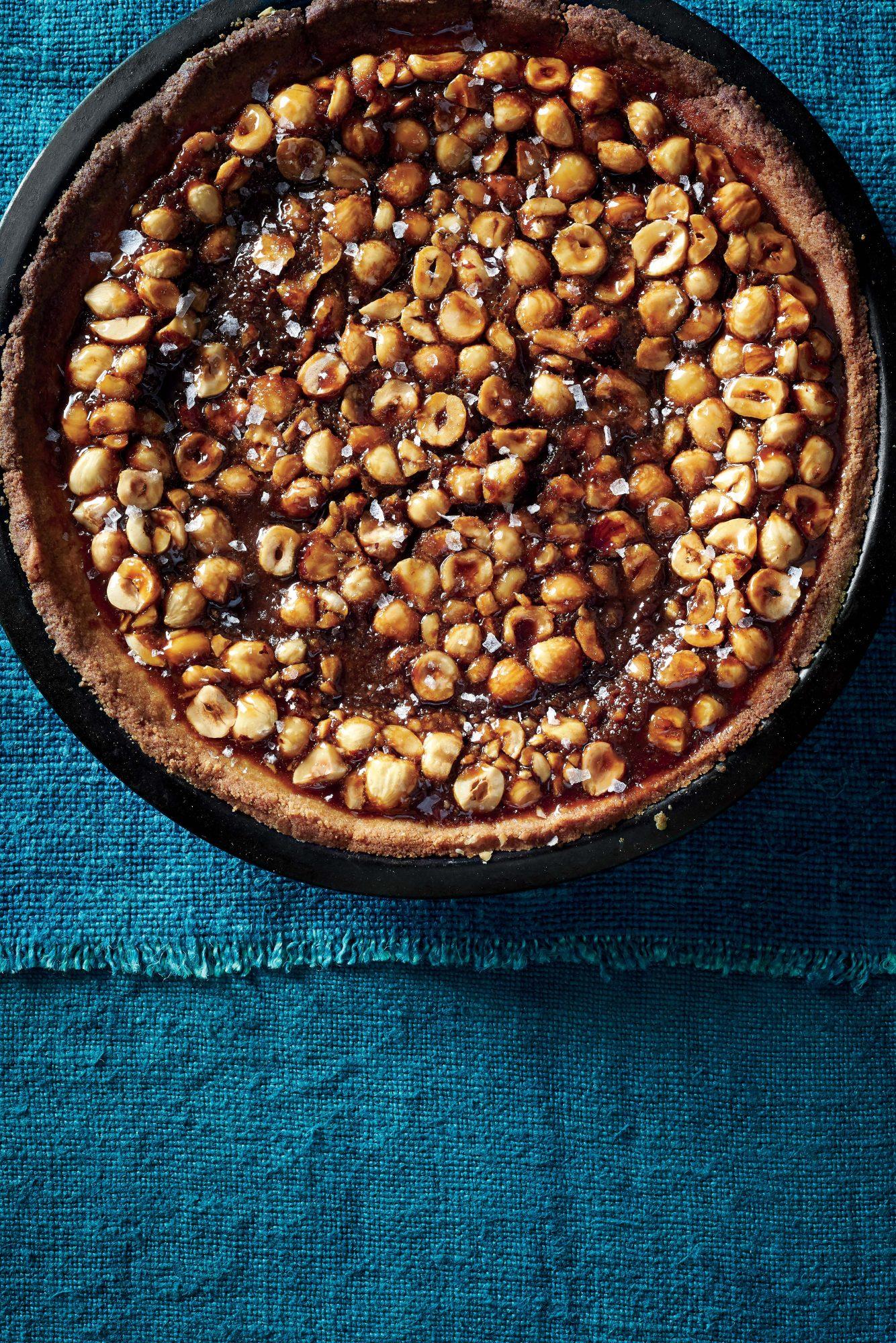 Coffee-Hazelnut Pie