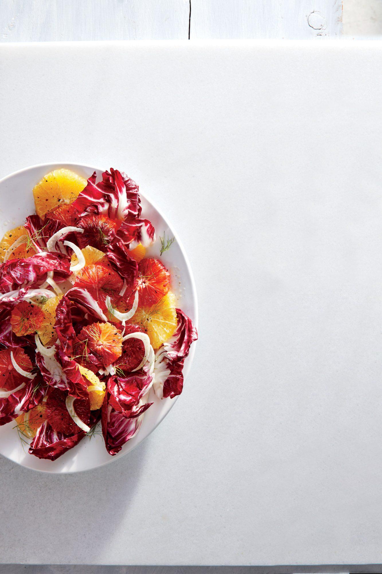 Blood Orange and Radicchio Salad