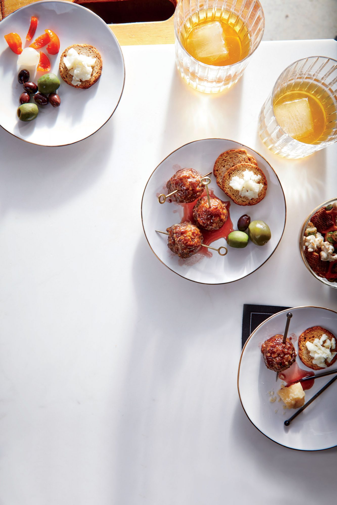 Glazed Cocktail Meatballs image