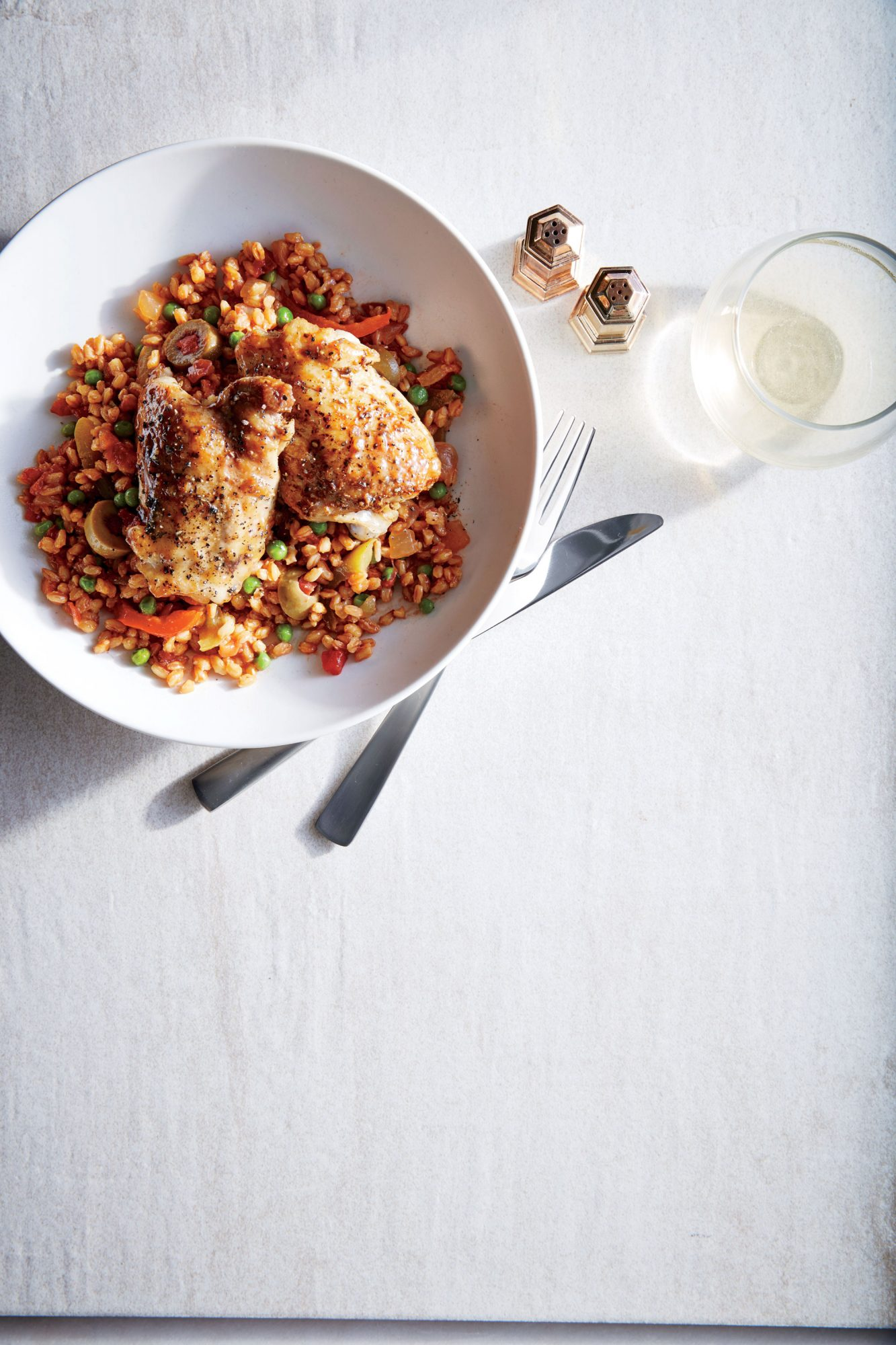One-Pot Chicken with Farro image