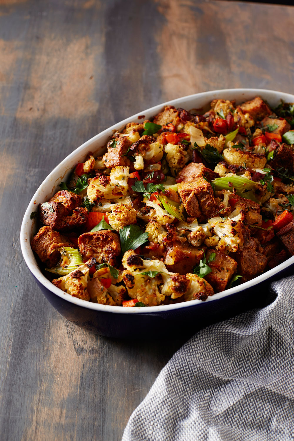 Gluten-Free Cauliflower Stuffing
