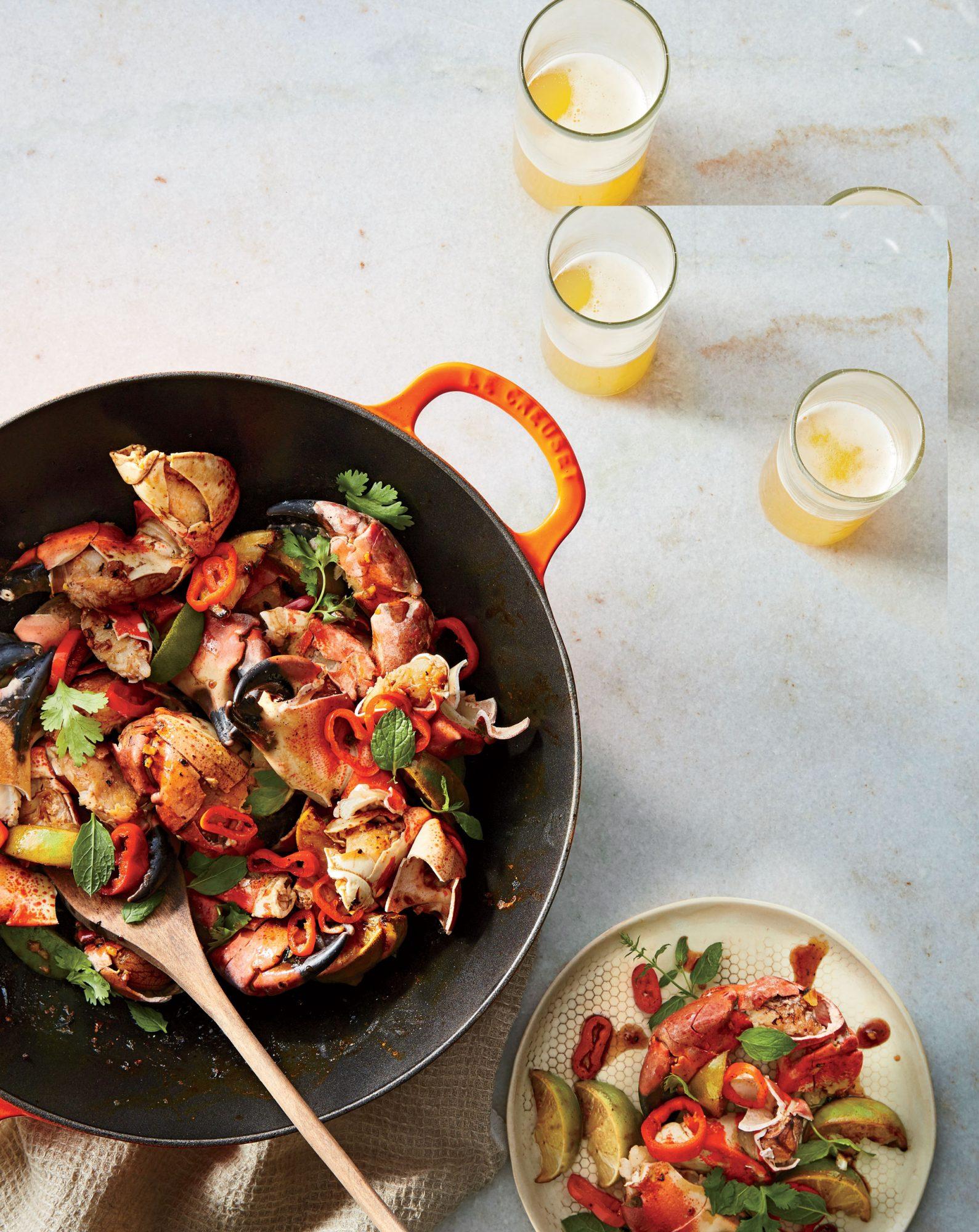 Stone Crab Stir-Fry
