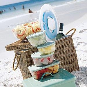 0909 Beach Storage Bowls