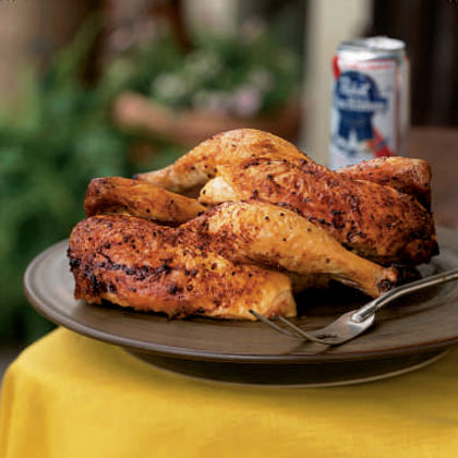 Grilled Chicken–Hot off the Coals