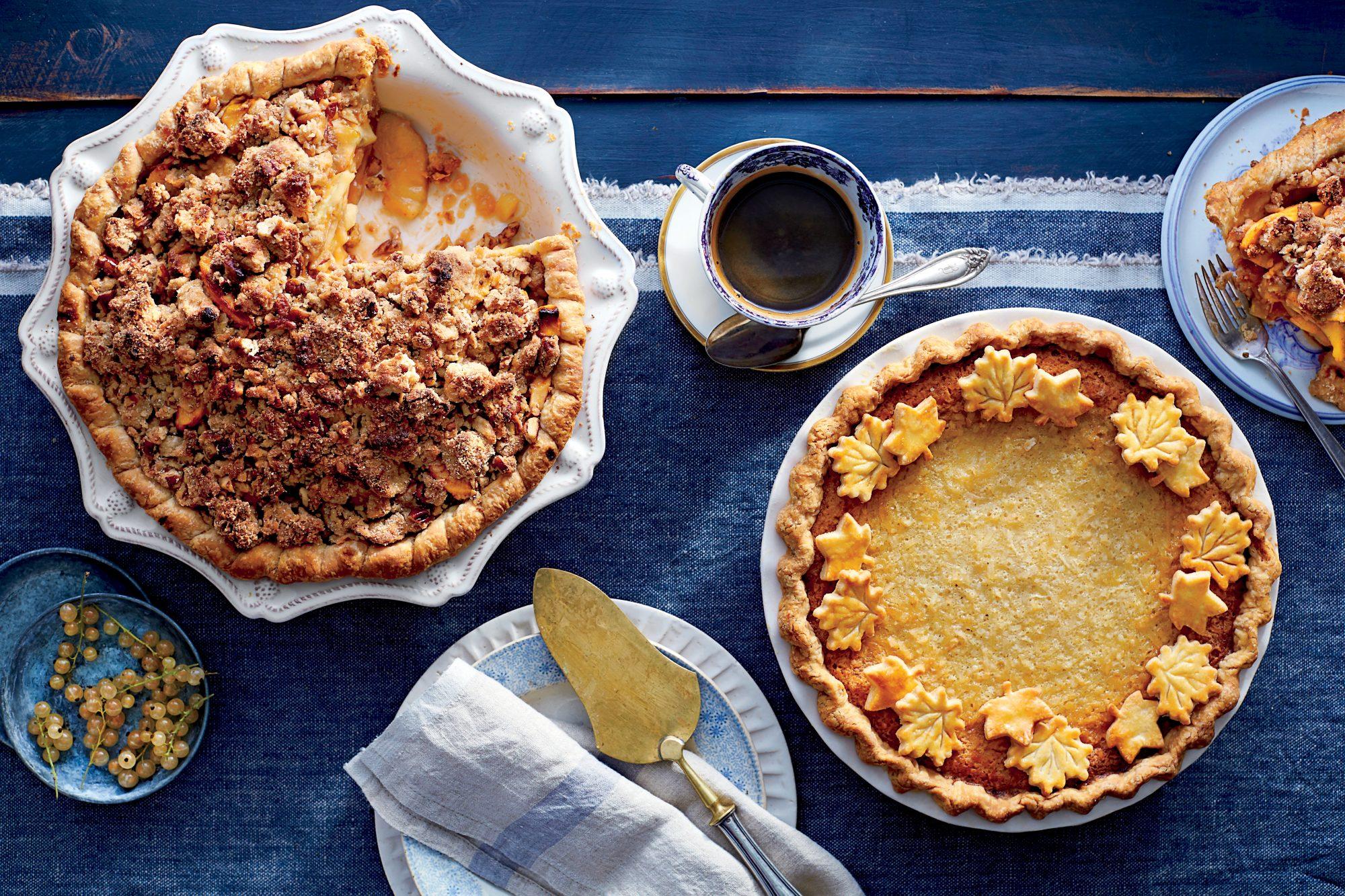Ambrosia Pudding Pie
