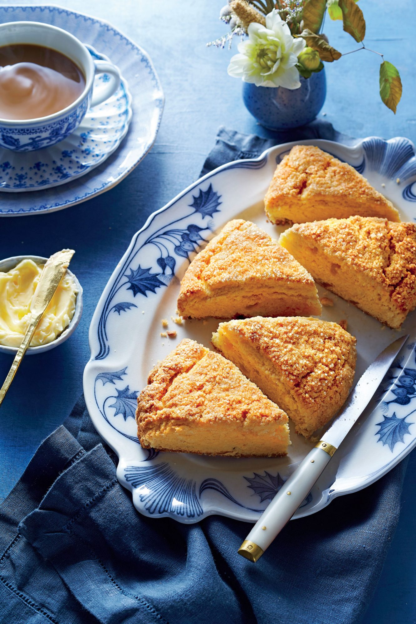 Sweet Potato-Ginger Scones