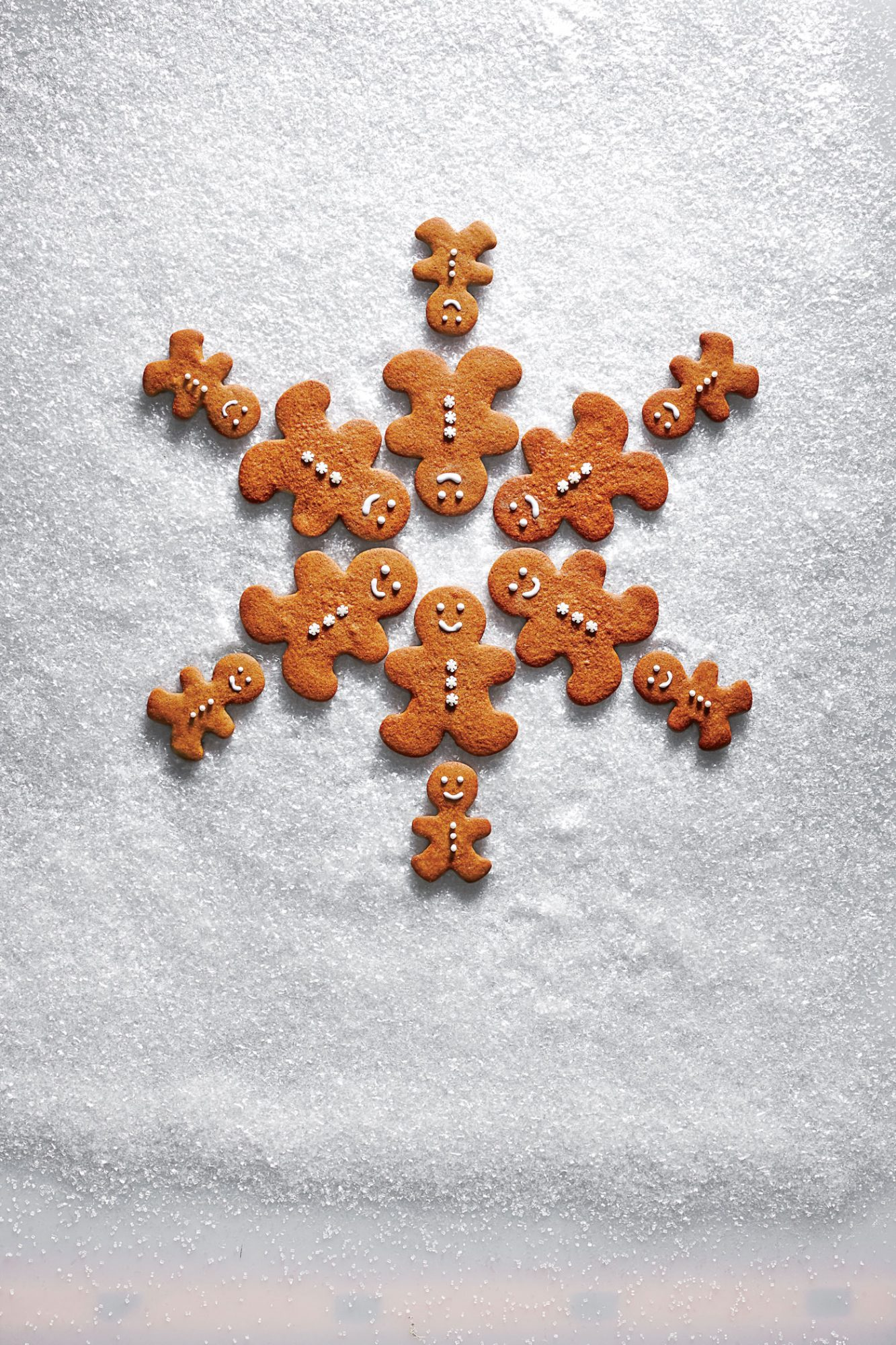 Spicy Molasses Gingerbread People image