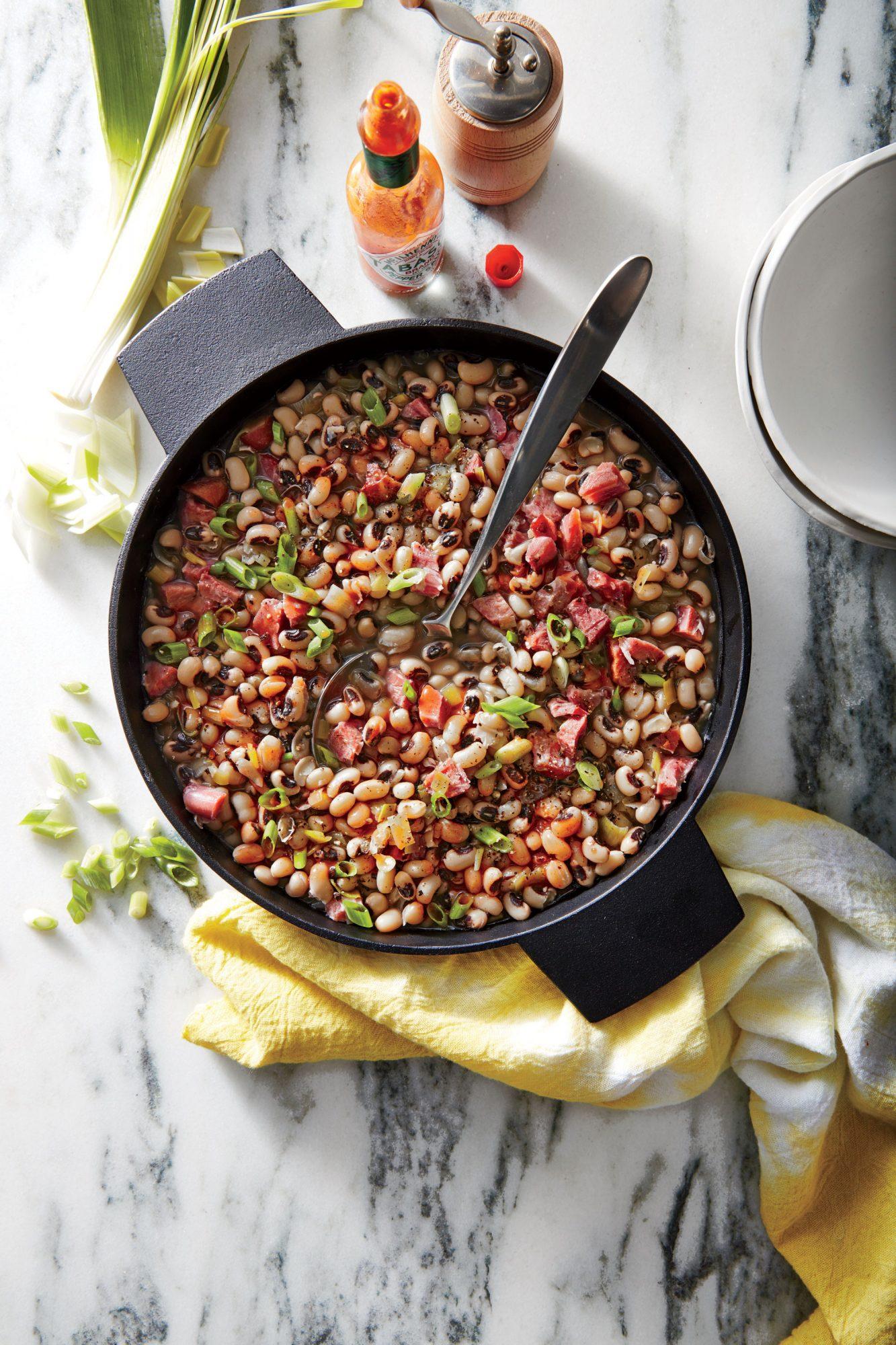 Smoky Black-Eyed Peas image
