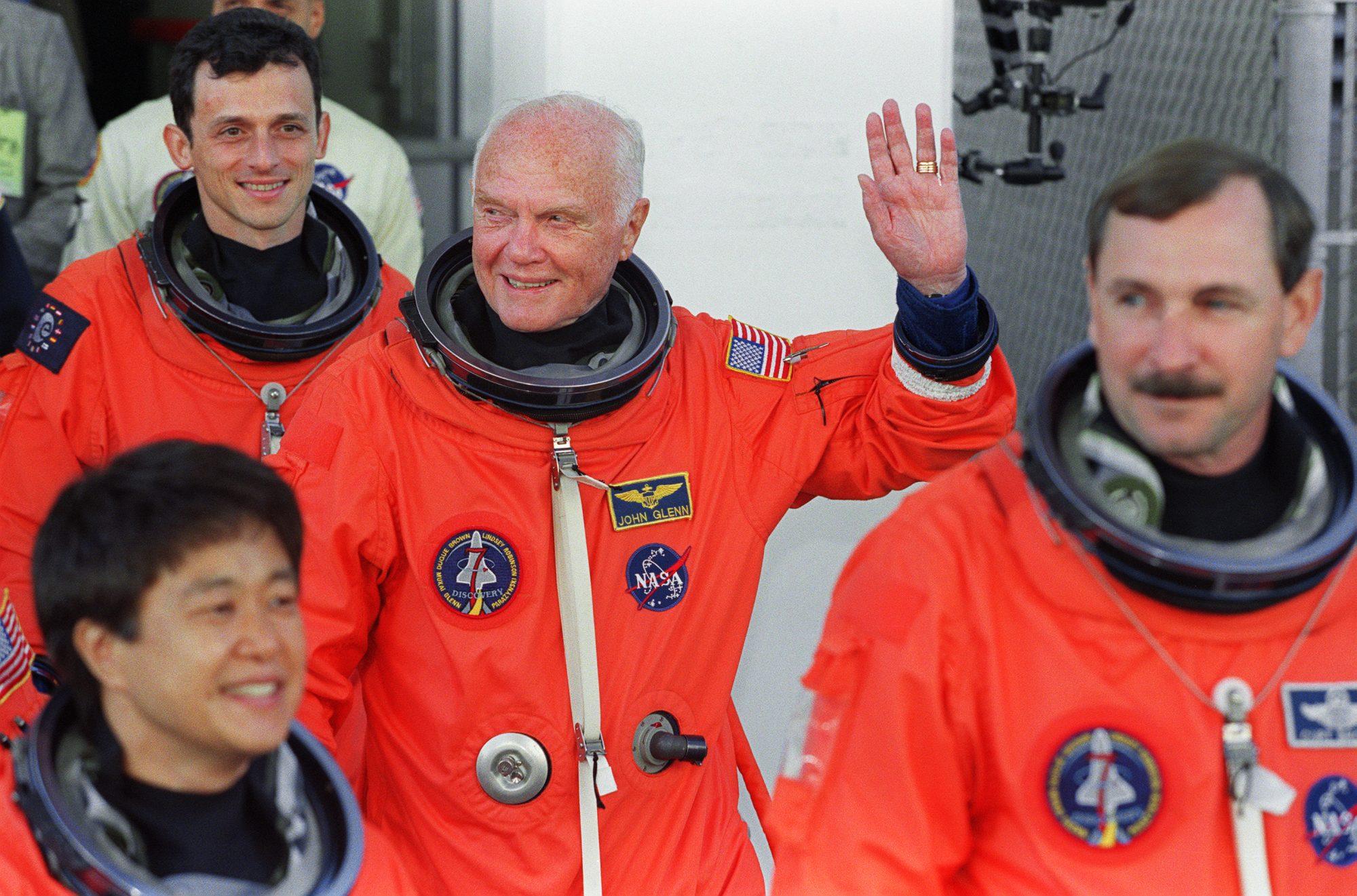 John Glenn Space Shuttle