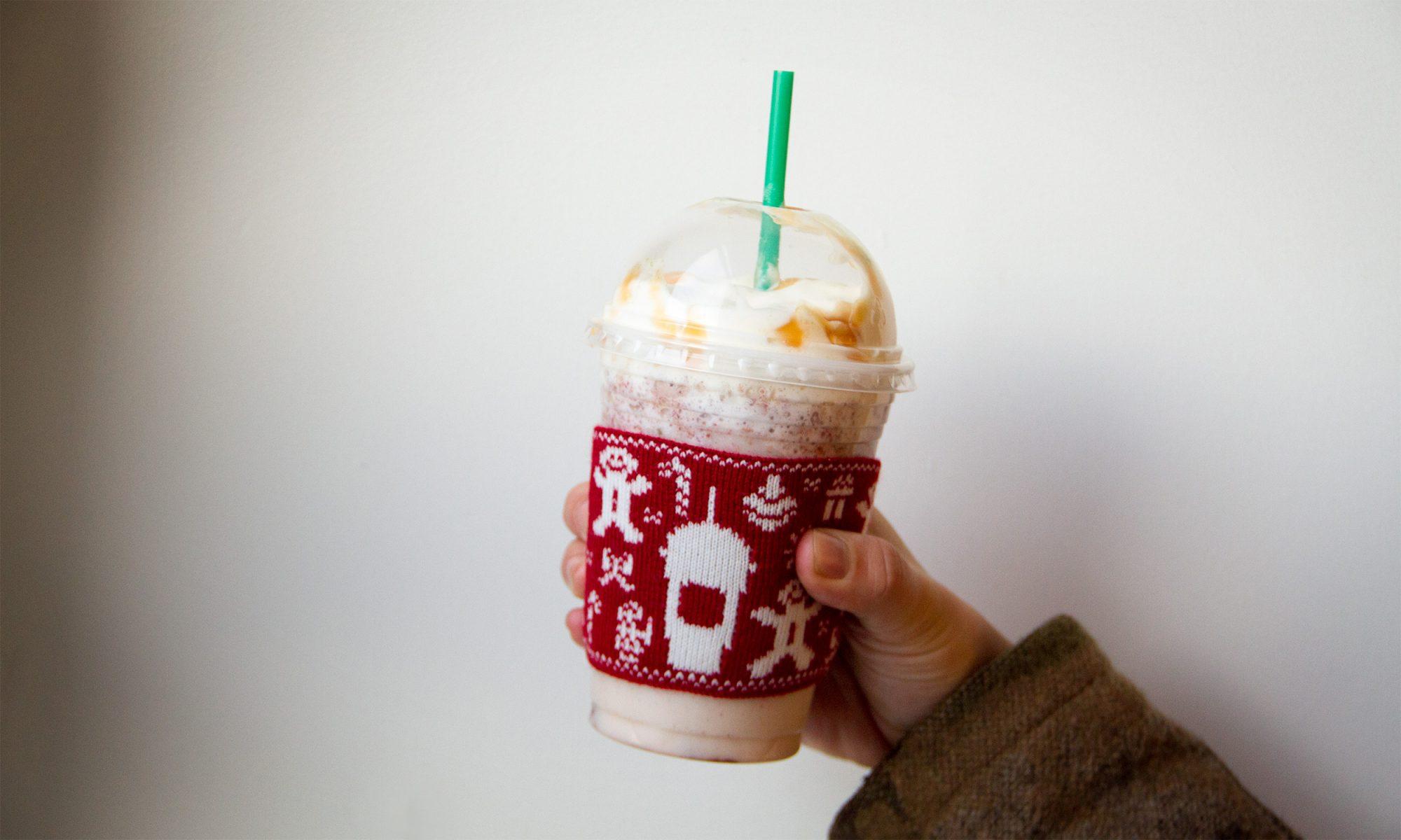 Starbucks' Fruitcake Frappuccino