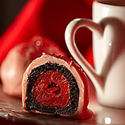 OREO-Cherry Cookie Balls [Ad]