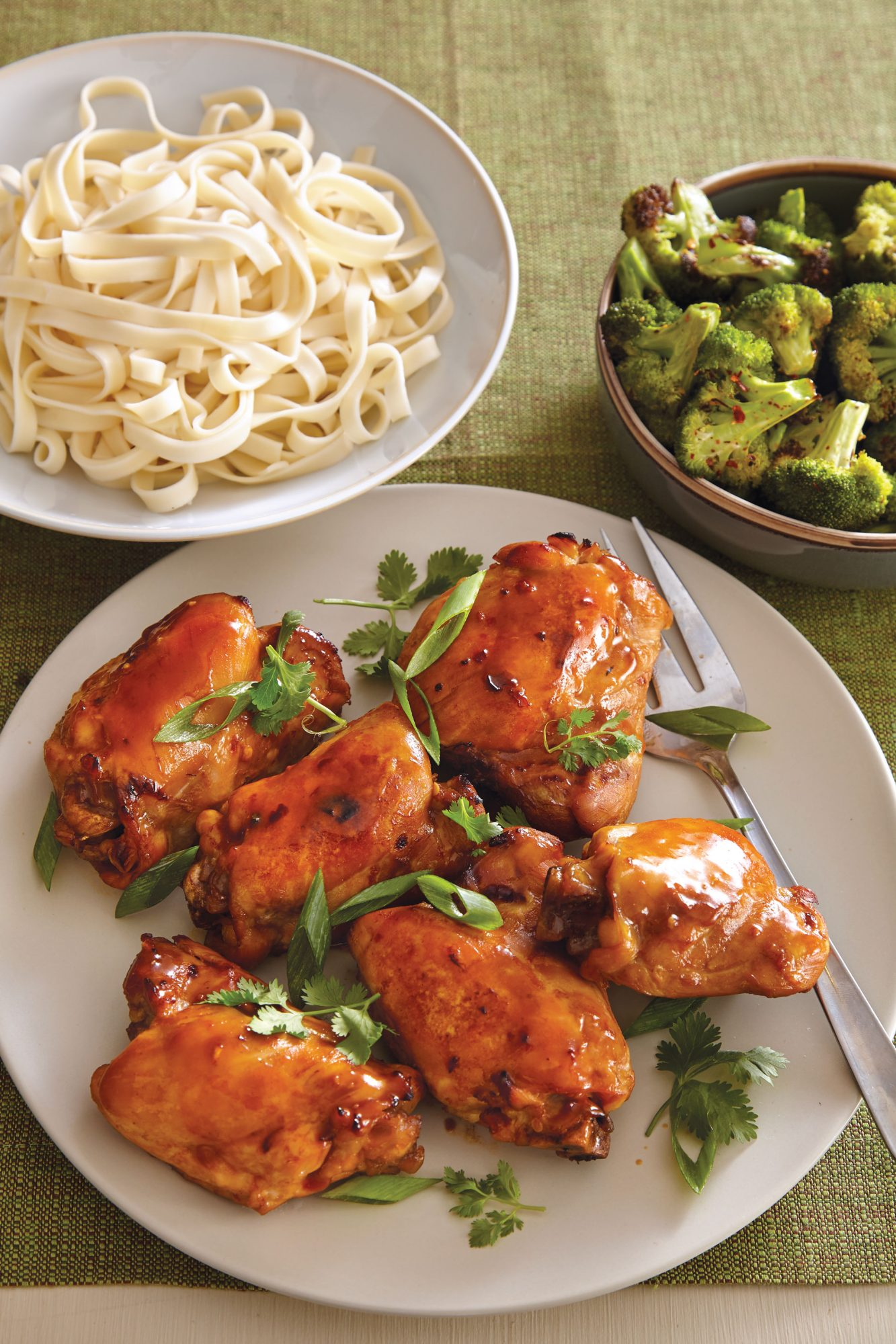 Asian Chicken Thighs image