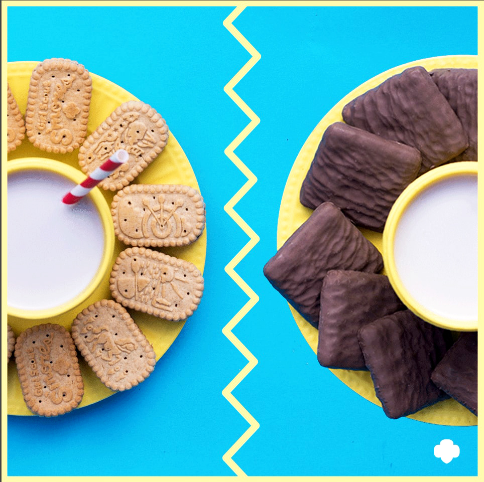 We Tried the New S'mores Girl Scout Cookies and They Did Not Disappoint