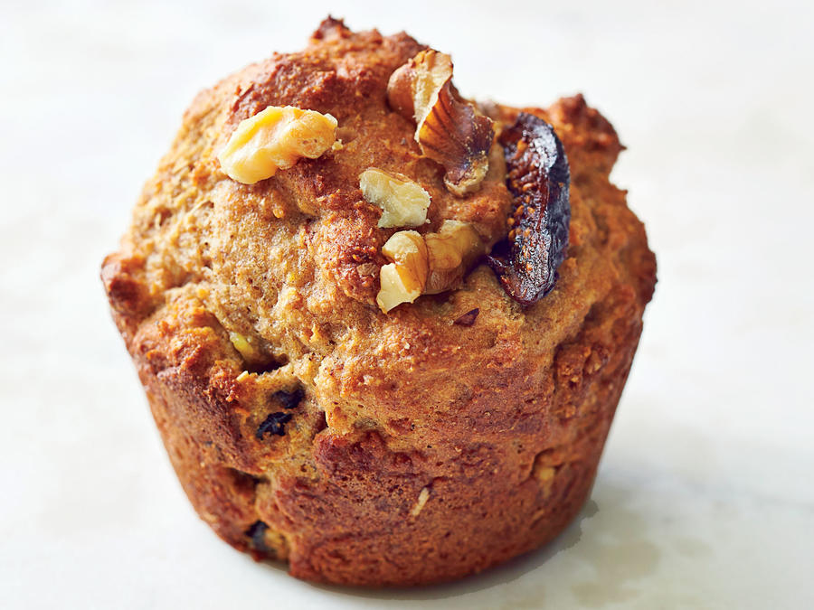 Figgy Walnut Muffins