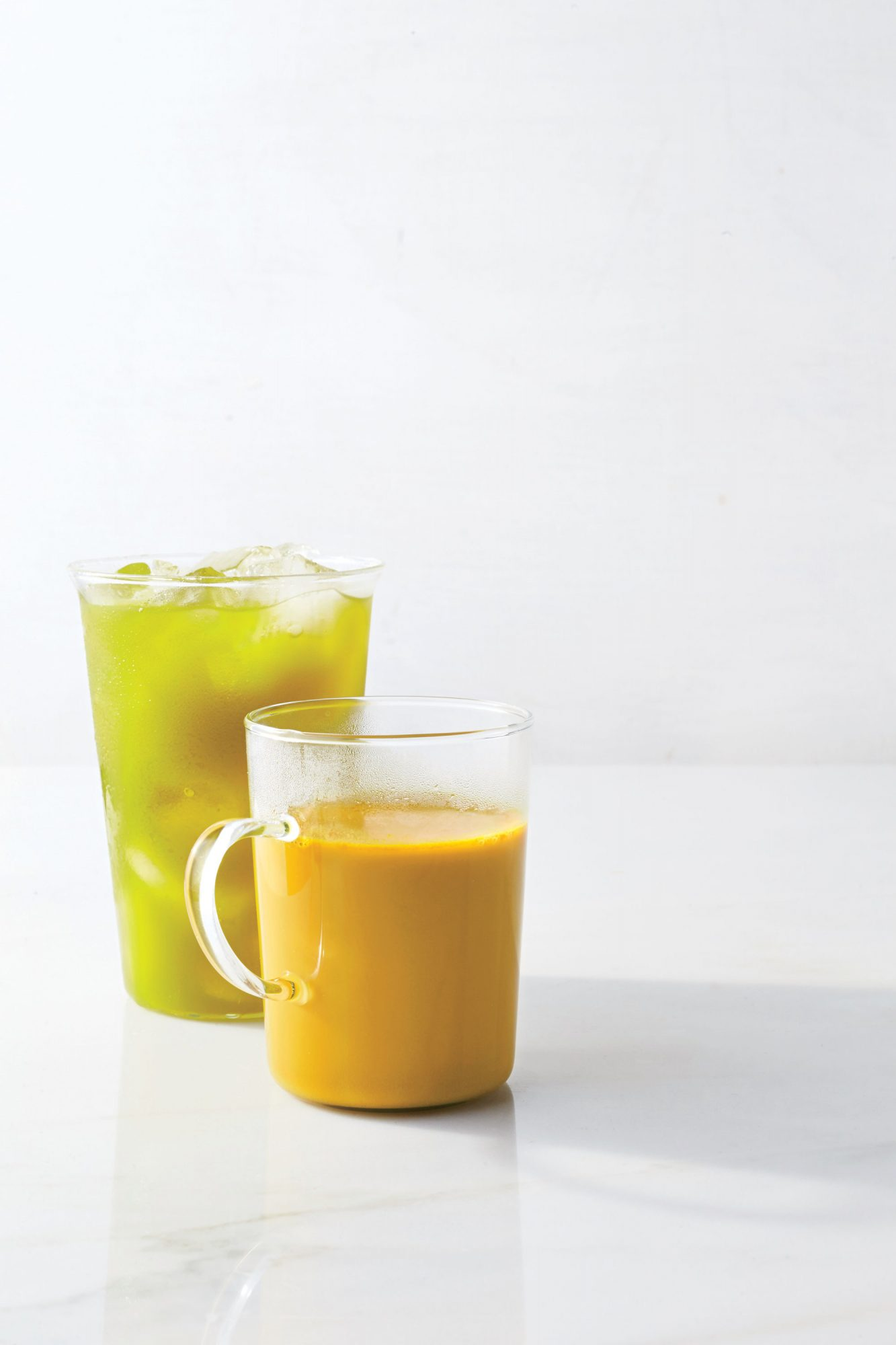 Double-Apple Morning Elixir