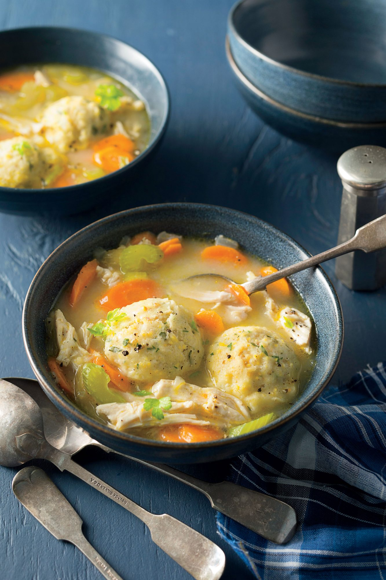 Chicken and Herbed Cornmeal Dumplings image