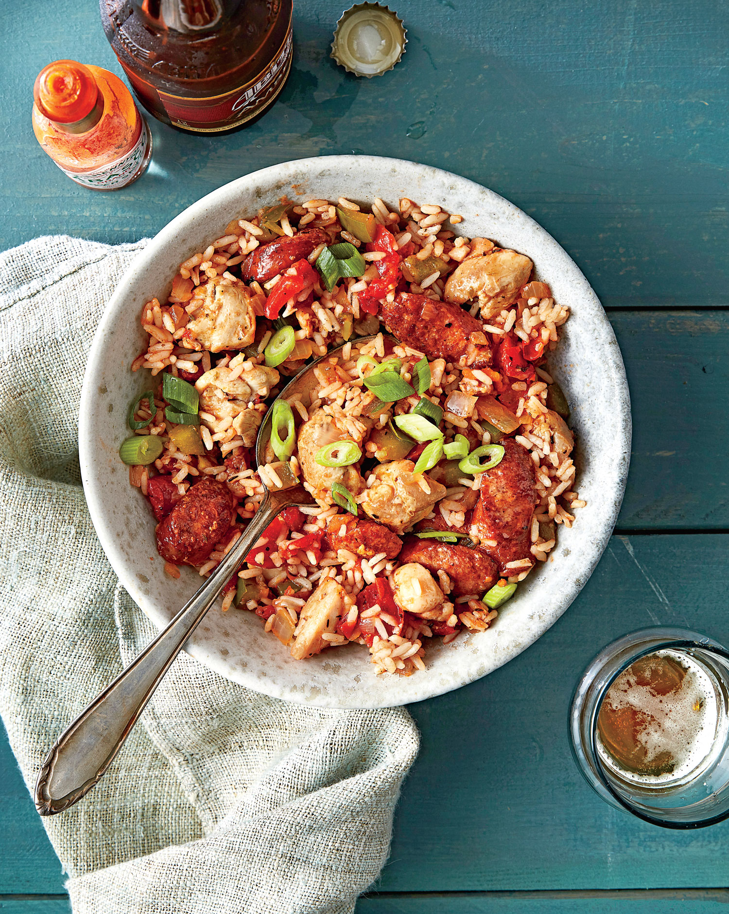 Chicken and Sausage Jambalaya image