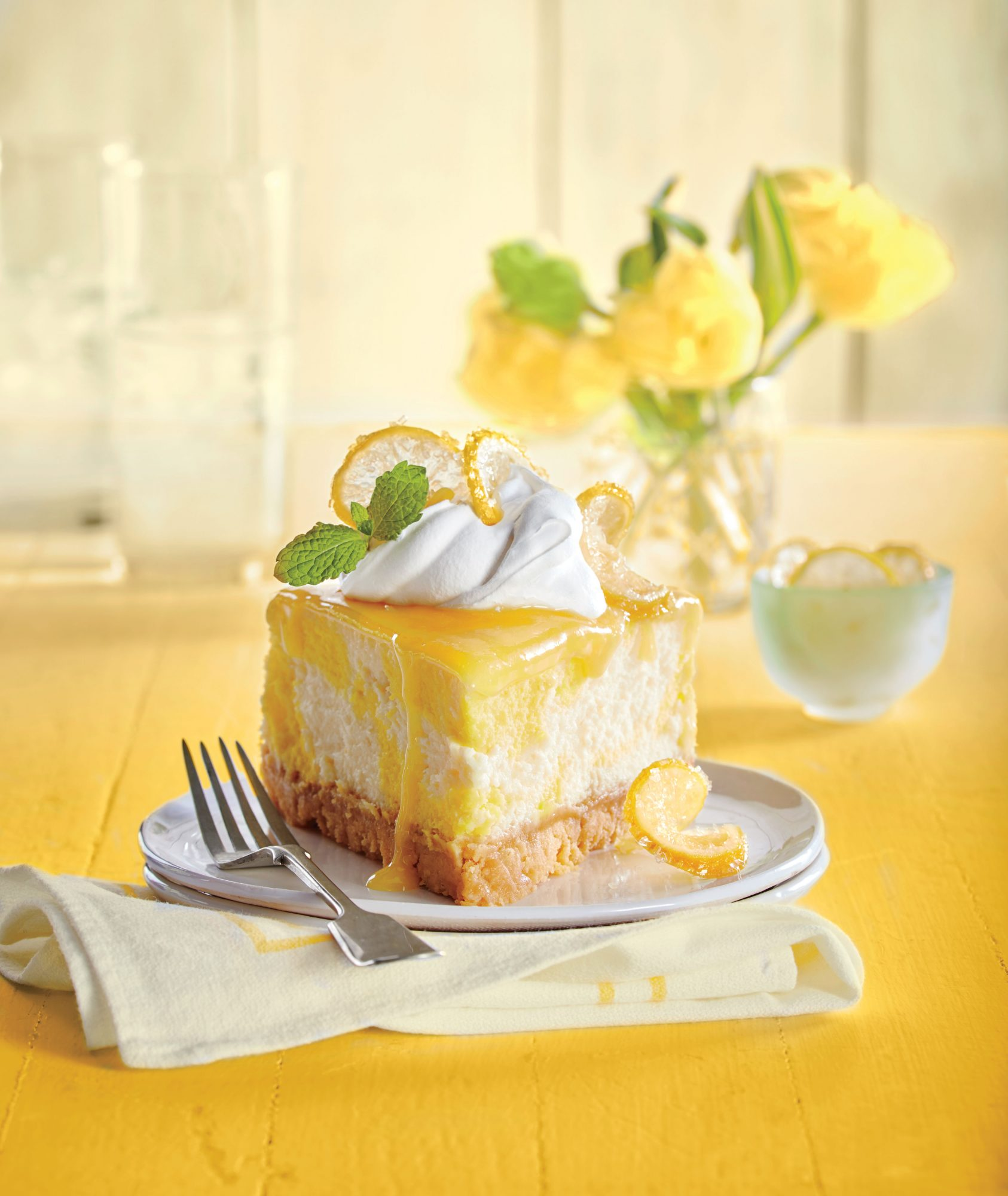 Dreamy Lemon Cheesecake image