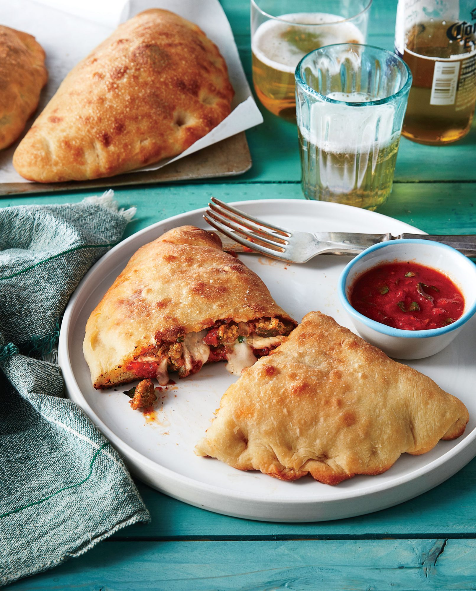 Sausage Calzones image