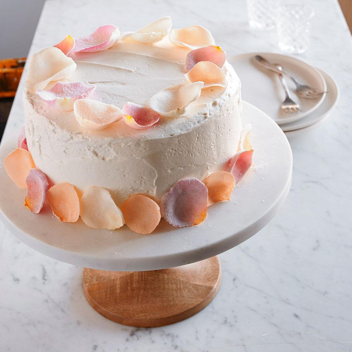 Chez Panisse Sugared Rose Petals