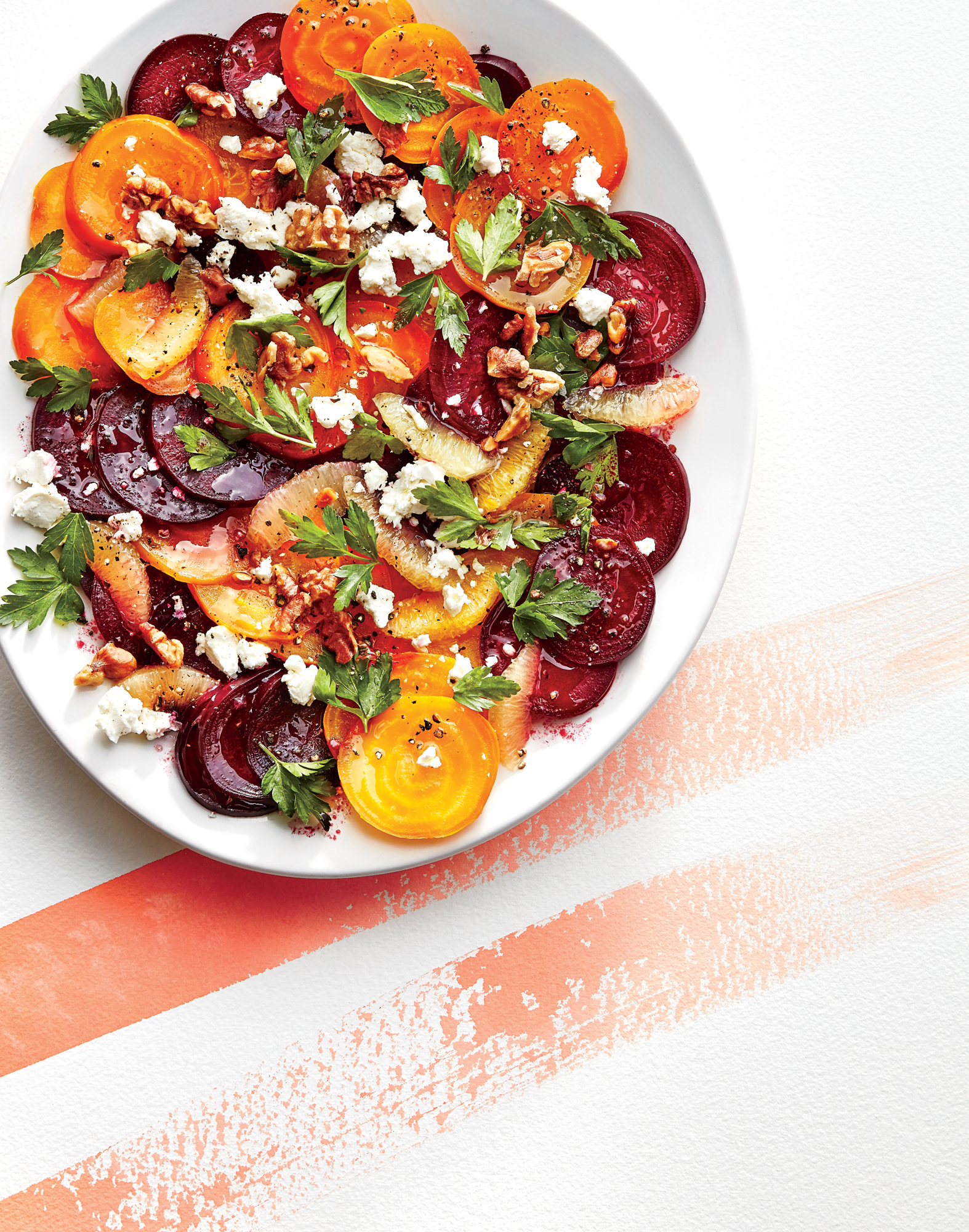 Beet, Lemon, and Walnut Salad