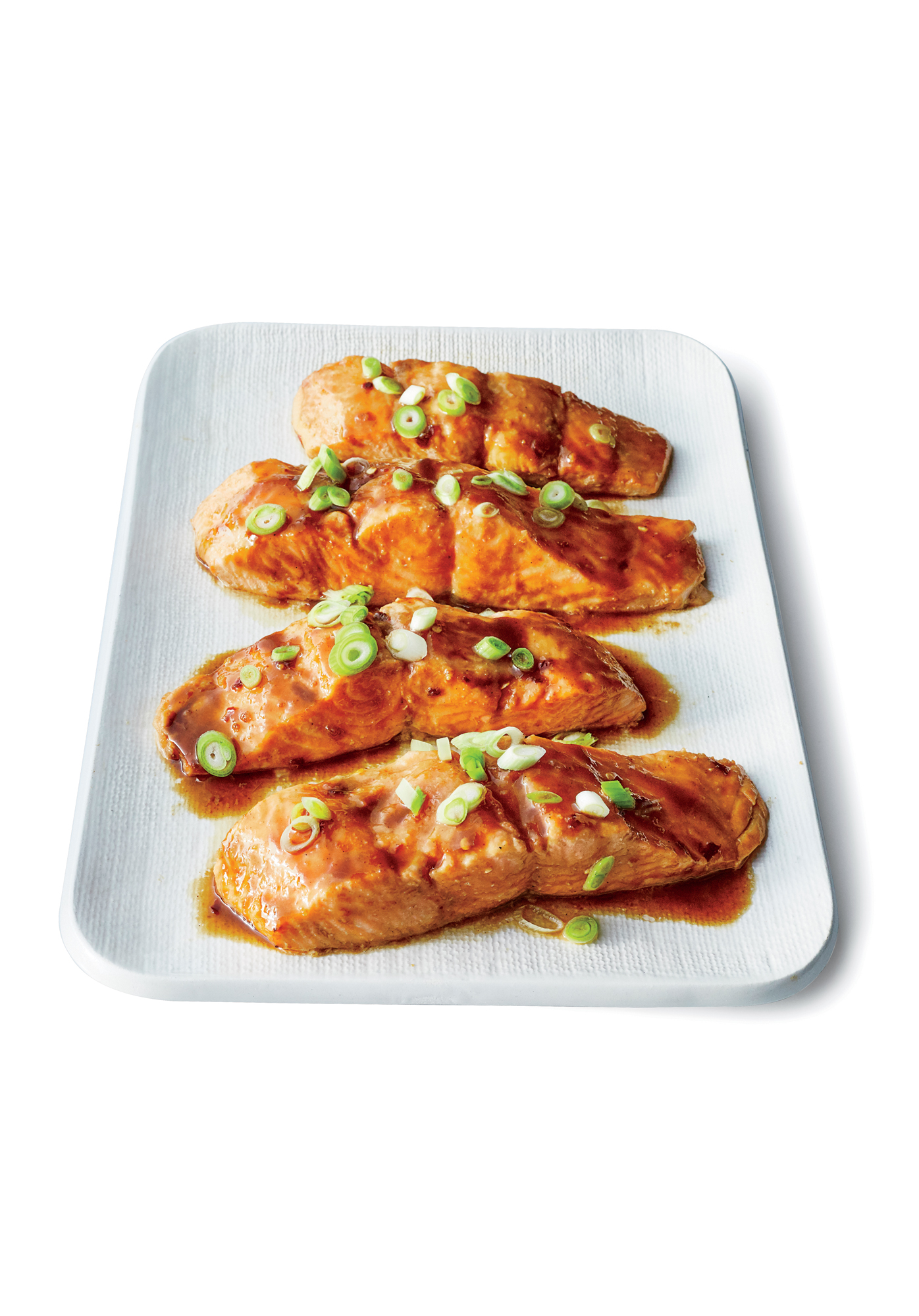 Easy Sesame-Hoisin Salmon