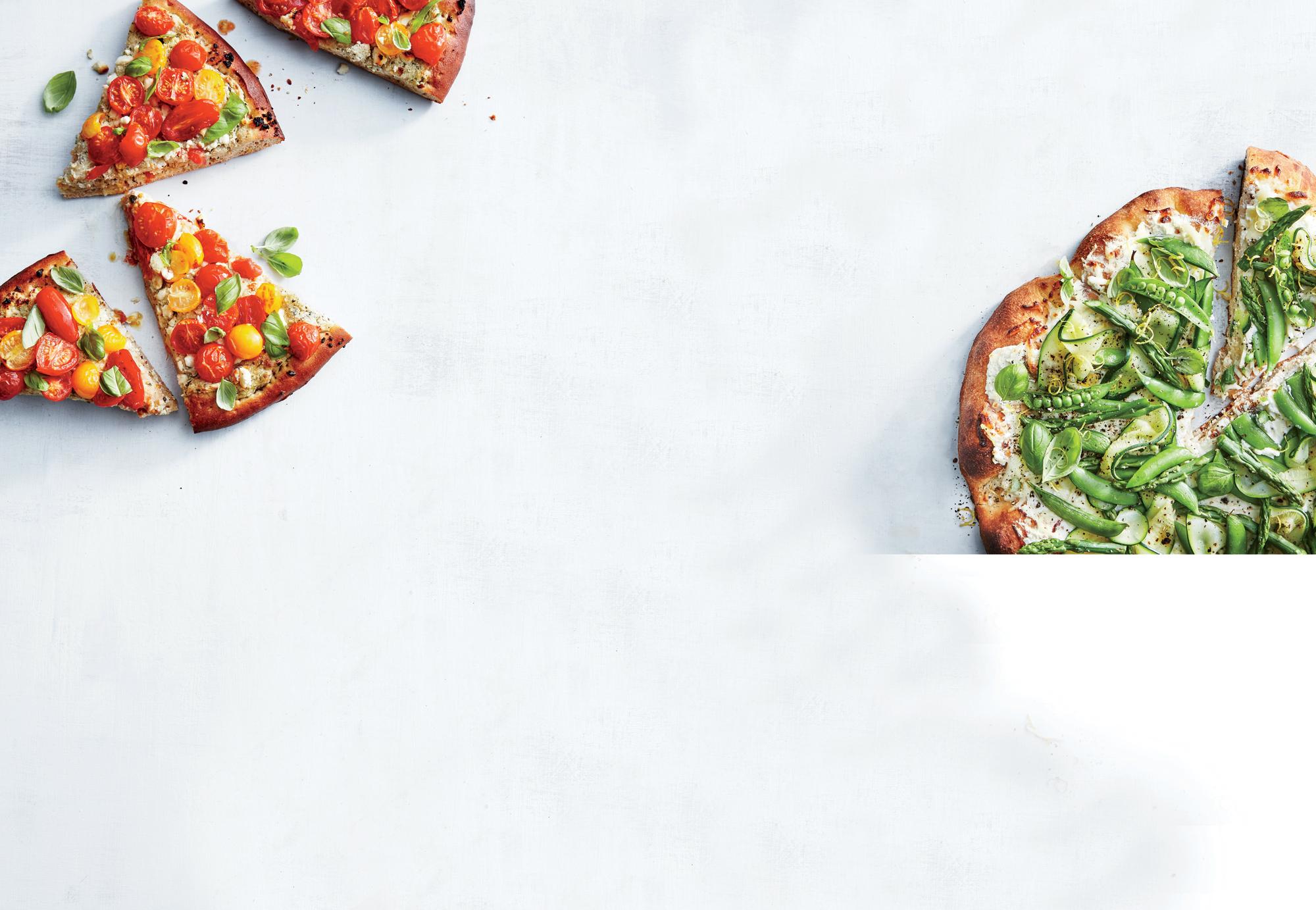 Garden Greens Pizza