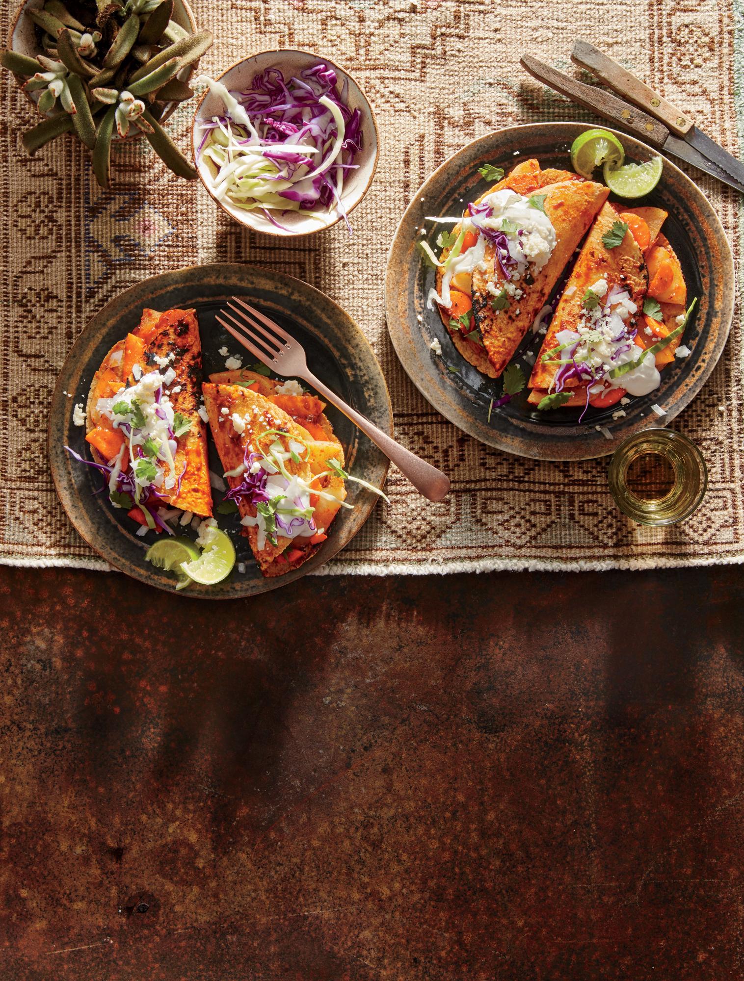 Morelia-Style Enchiladas