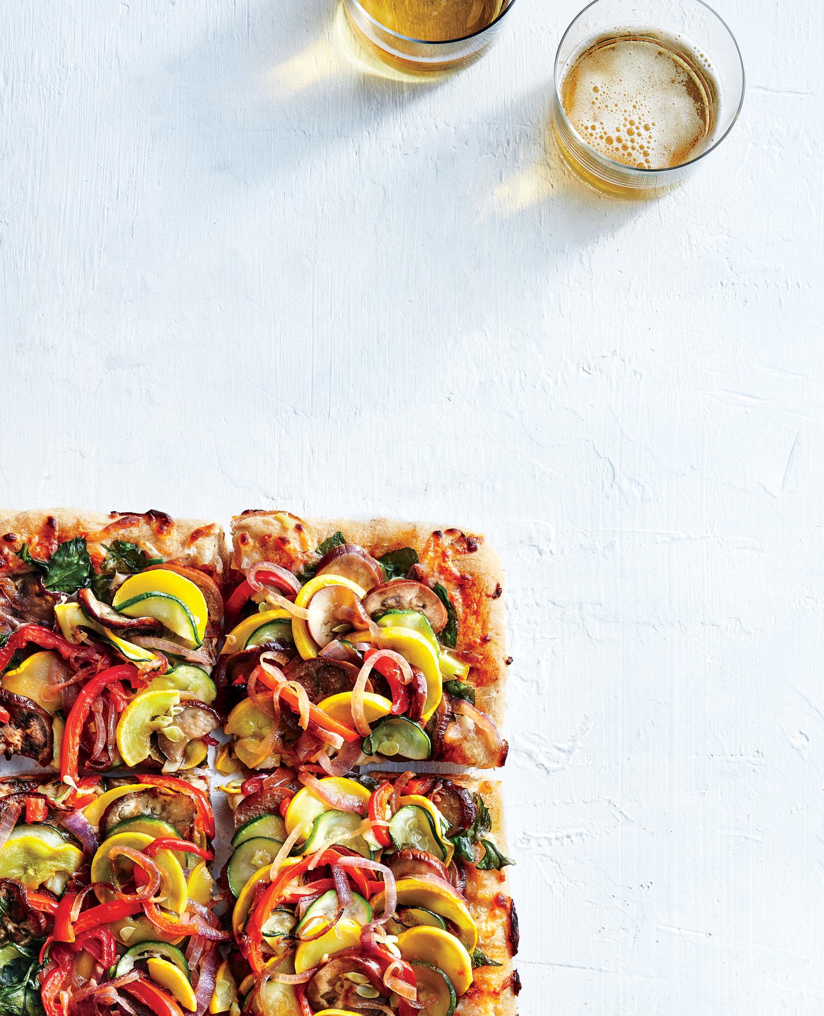 Supremely Veggie Pizza