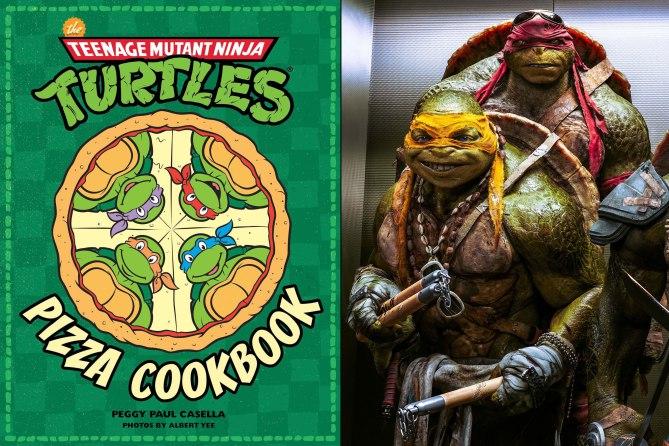 The Teenage Mutant Ninja Turtles Pizza Cookbook by Peggy Paul Casell