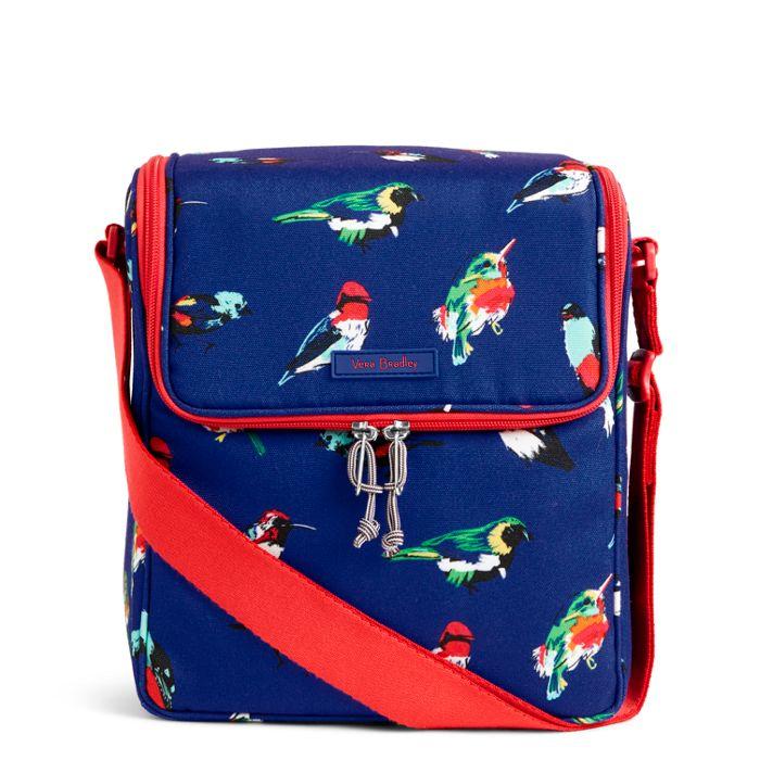 Blue Bird Lunch Cooler Bag Vera Bradley Image