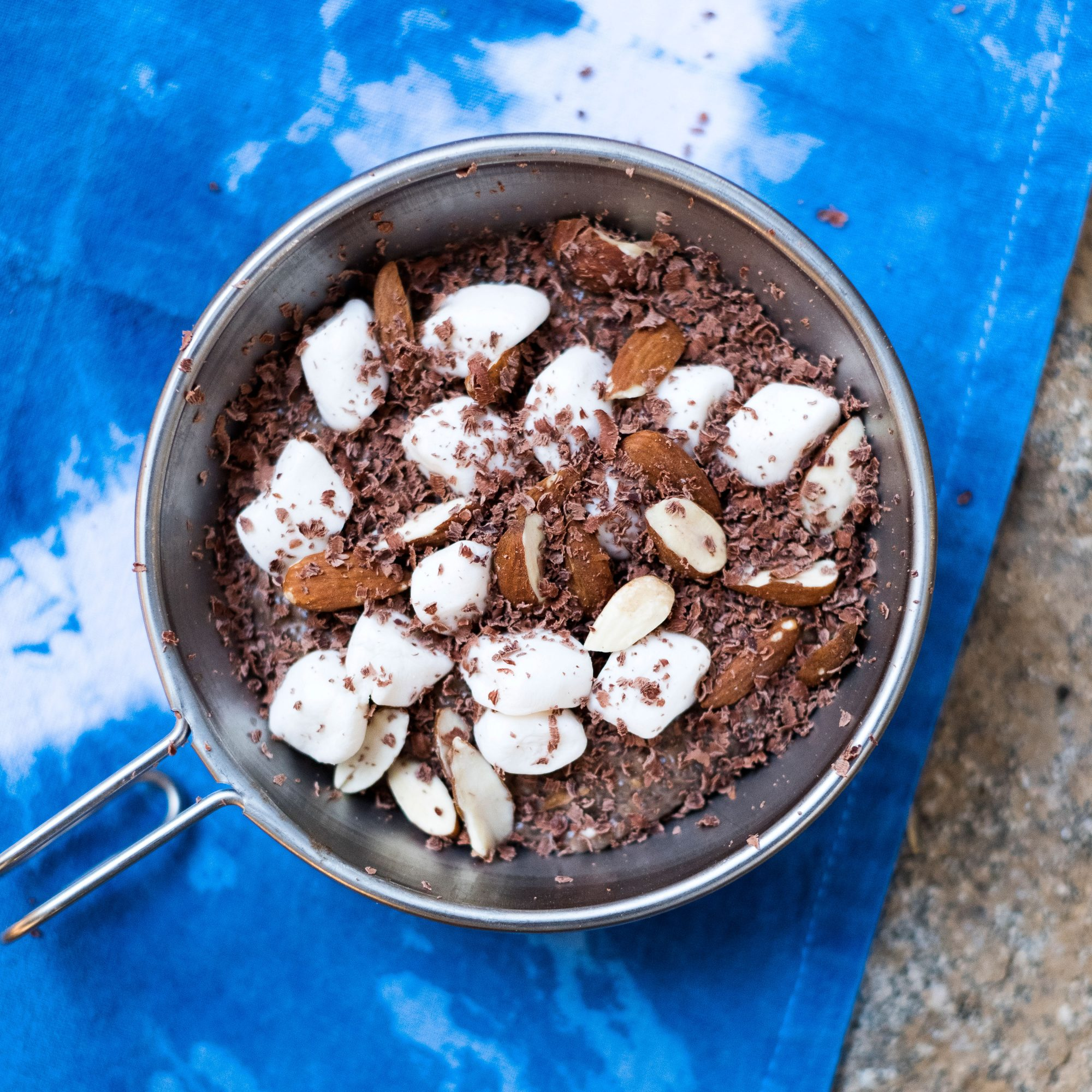 Rocky Road Chocolate Chia Pudding