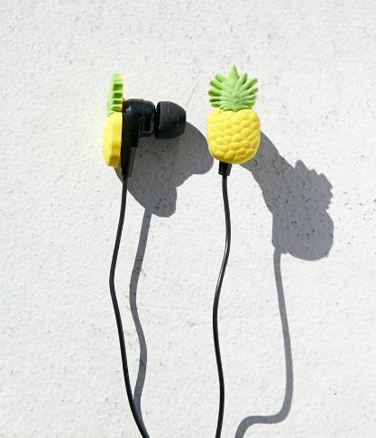 Pineapple ear buds