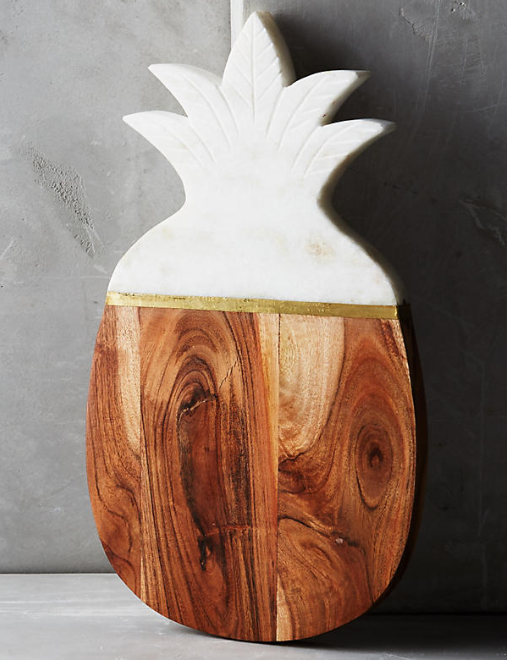 Pineapple Cheese Board