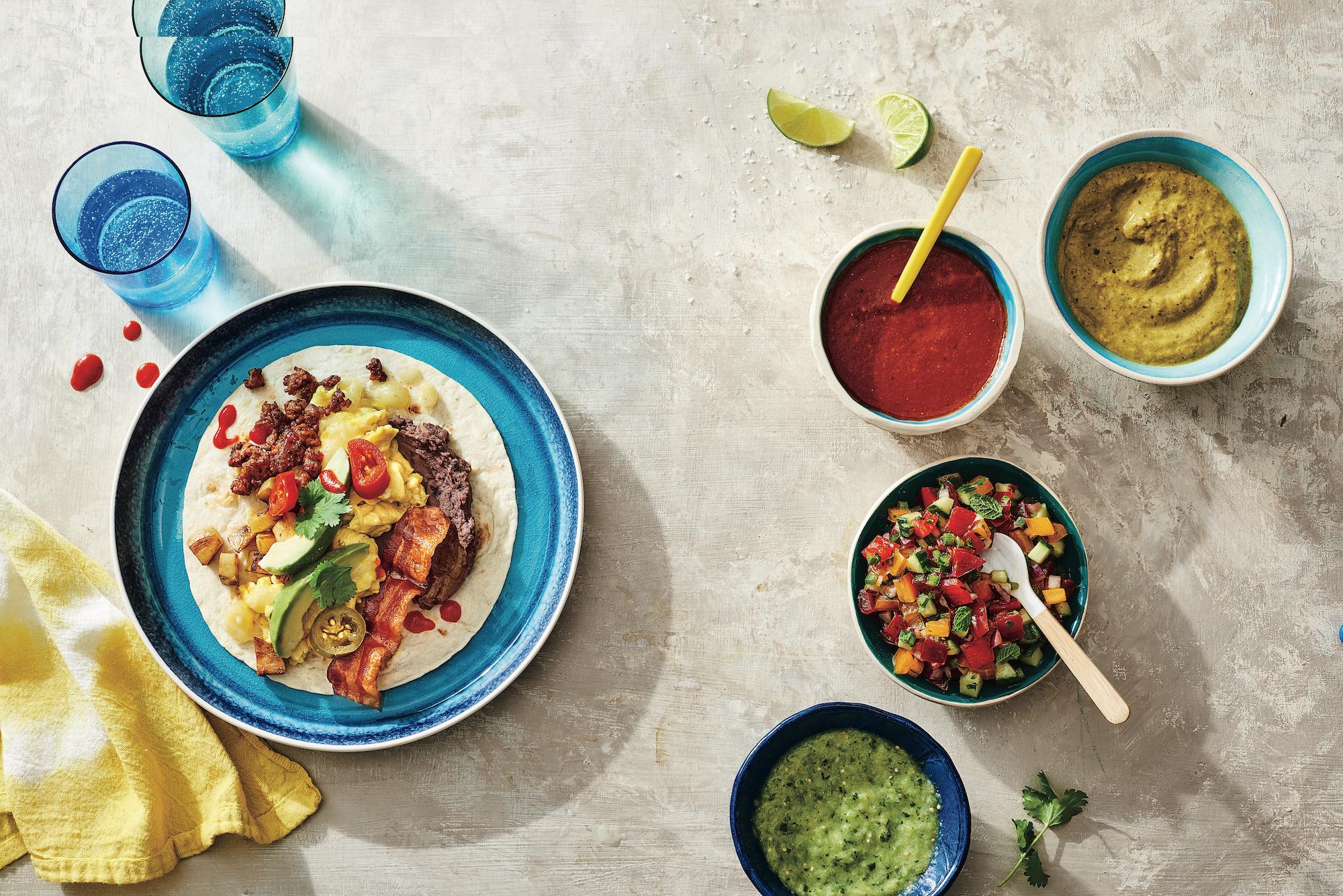Fresh Tomatillo-Serrano Sauce (Salsa Verde)