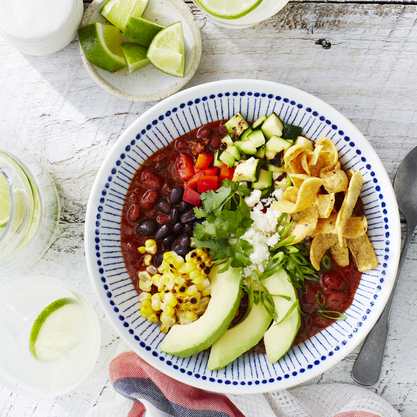 Summer Garden Chili Bowls