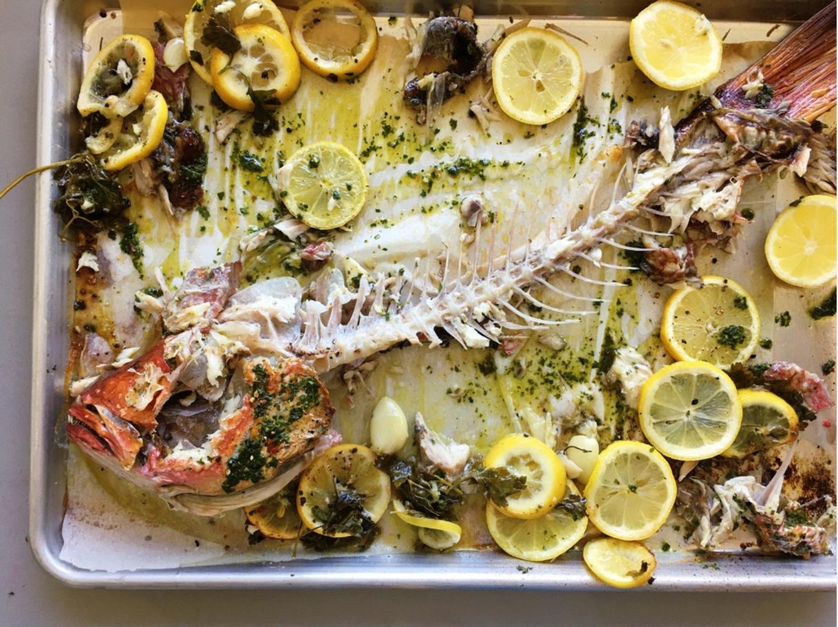 Whole Fish Carcass