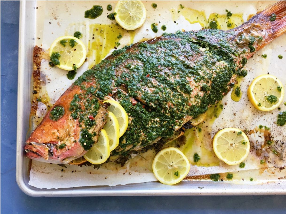 Whole Fish Cooked