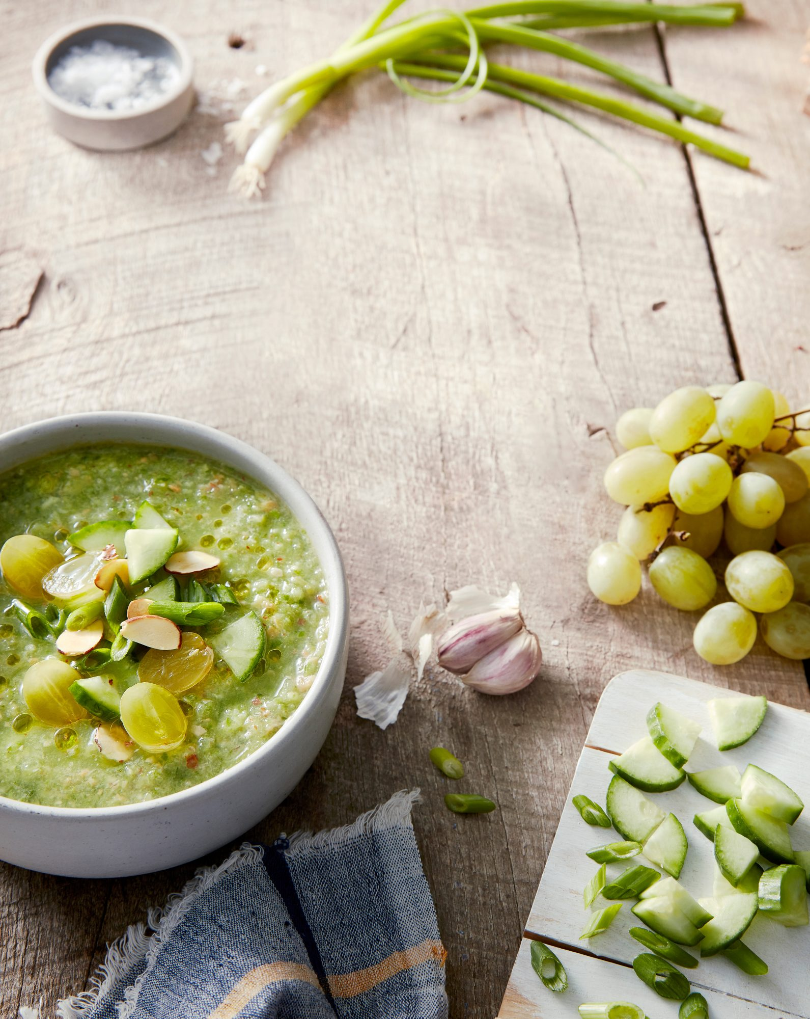 Grape and Cucumber Gazpacho