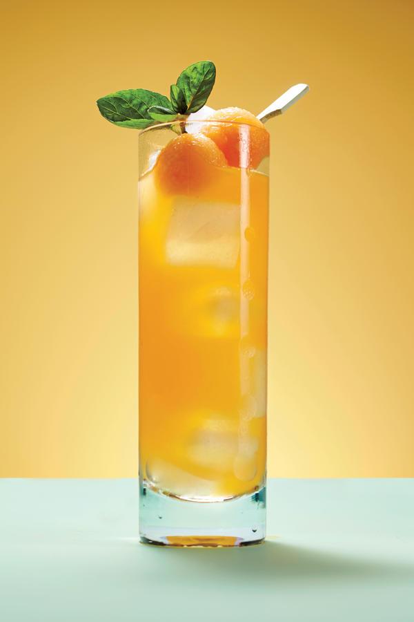 Cantaloupe-Mint Agua Fresca